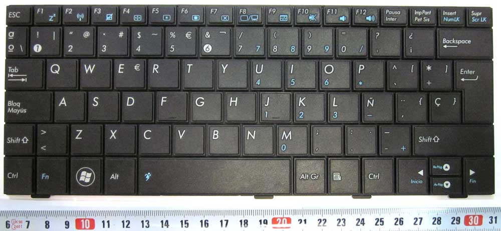 ASUS KEYBOARD -BLACK/NEGRO-