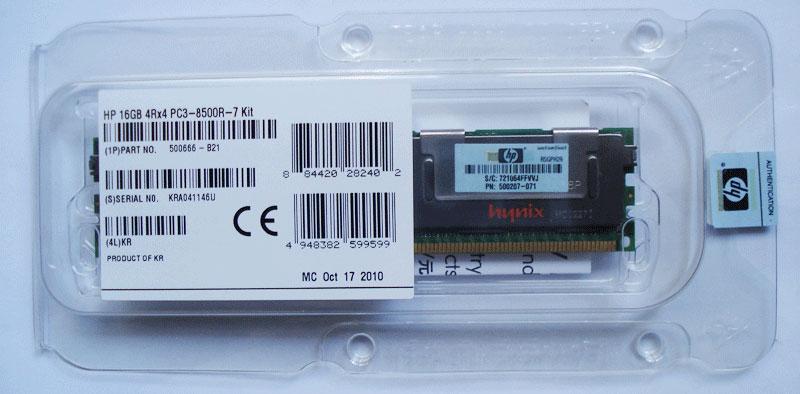 HP MEMORY 16GB /PD