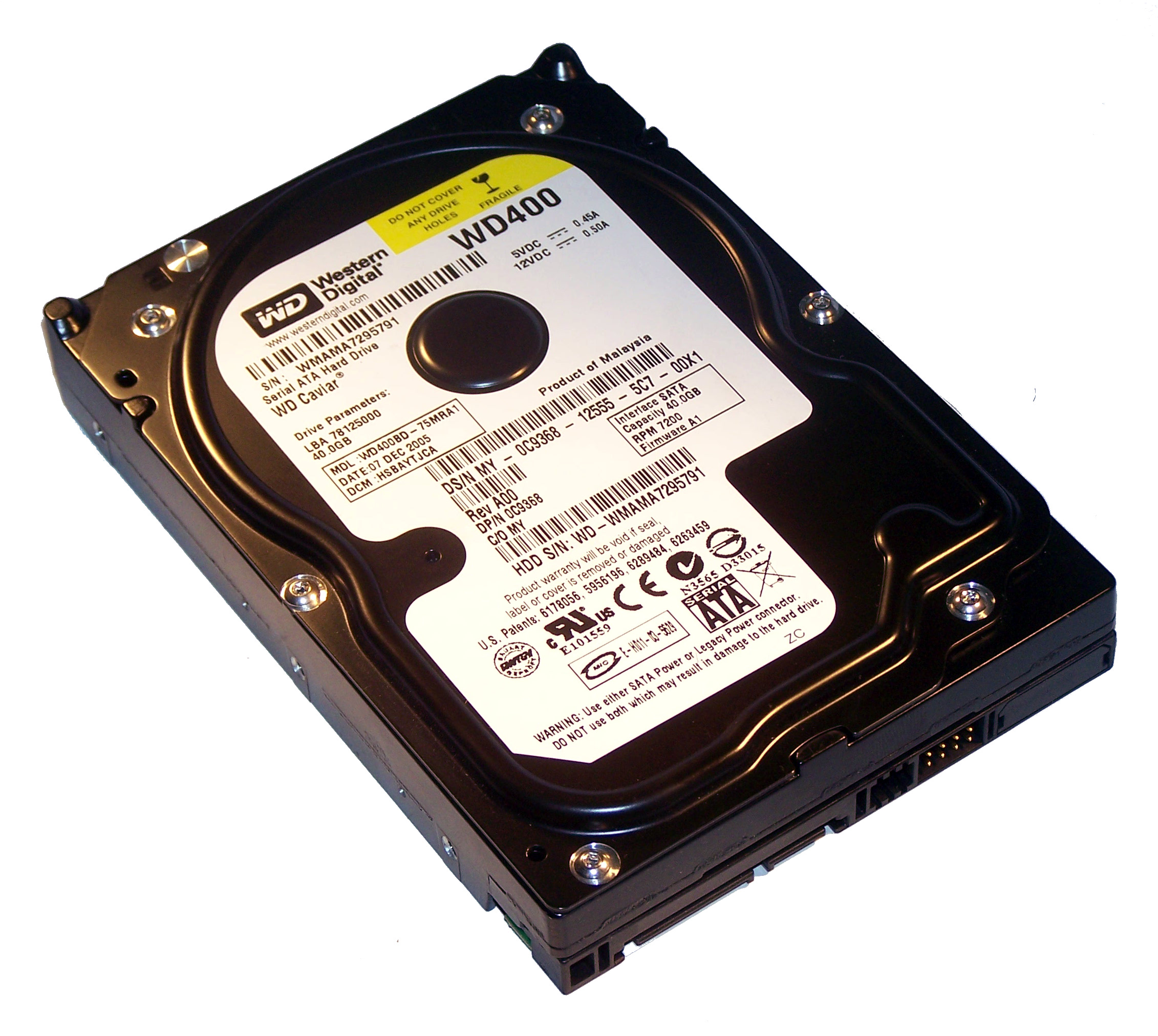DELL 40GB SATA  REFURB