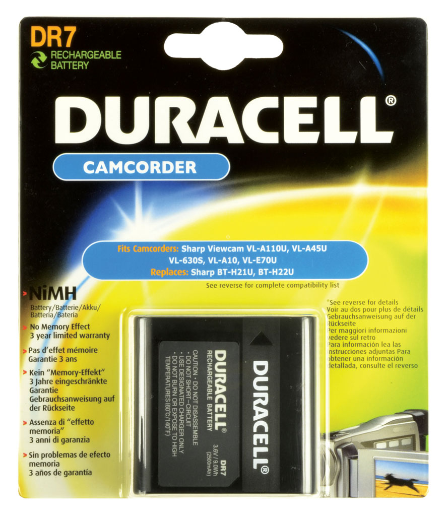 DURACELL.BAT.SHARP BT-H21