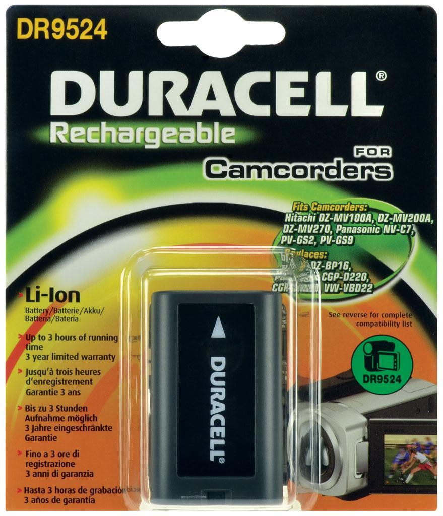 DURACELL.BAT.PANASONIC CGR-D22