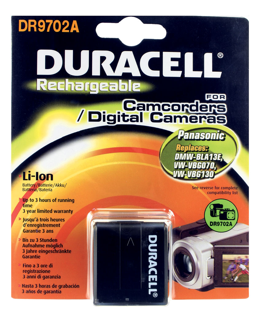 DURACELL.BAT.PANASONIC VW-VBG1