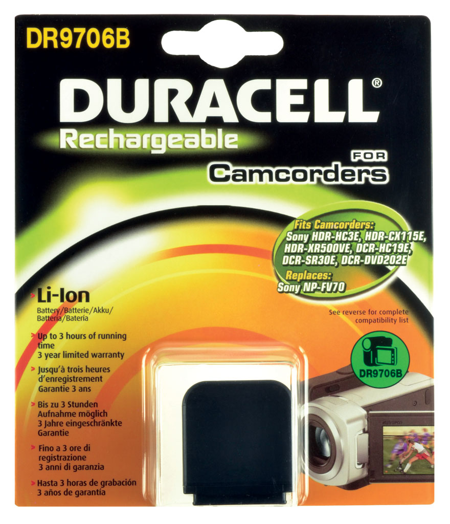 DURACELL.BAT.REPLACES SONY NP-