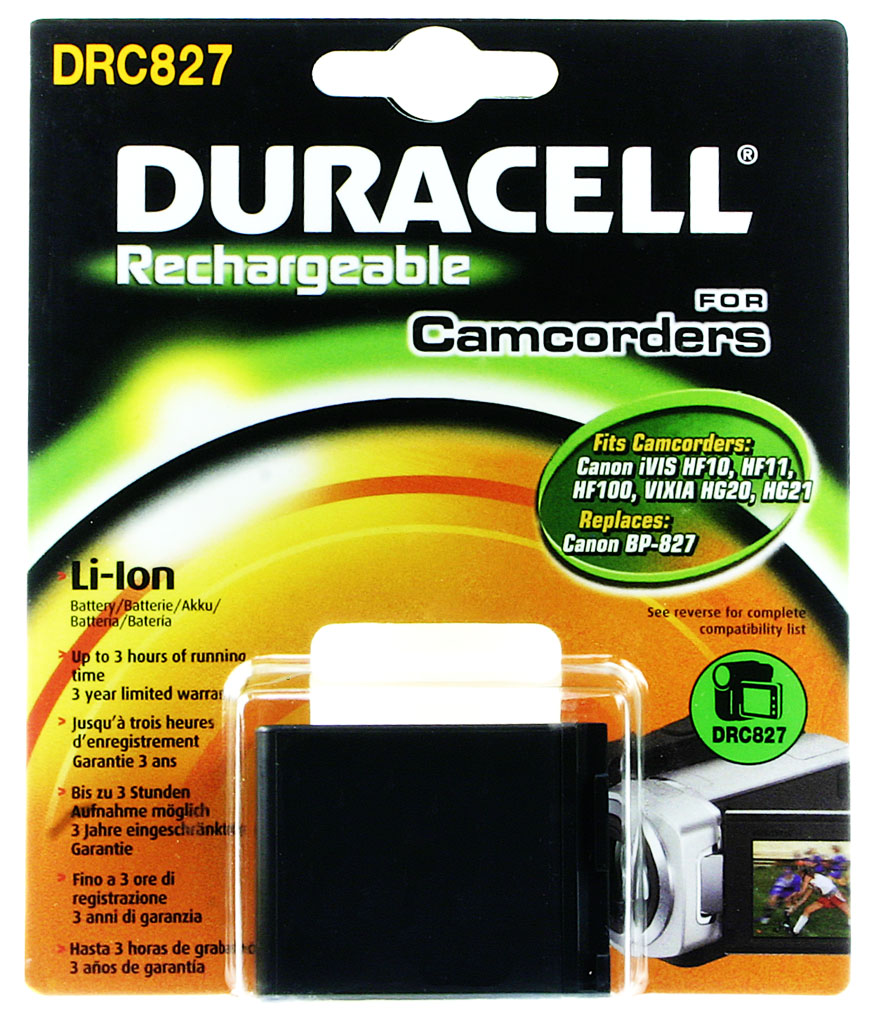 DURACELL.BAT.REPLACES CANON BP