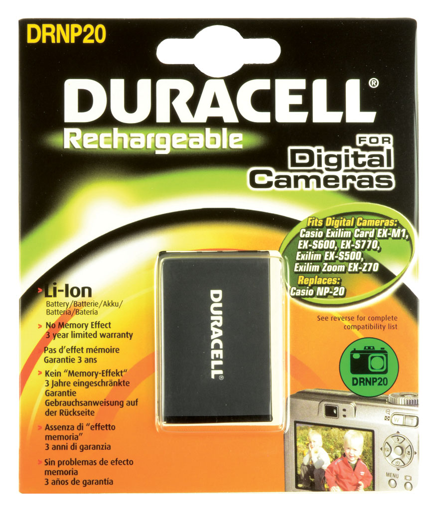 DURACELL.BAT.REPLACES CASIO NP
