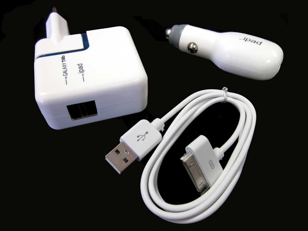 3 IN 1 CHARGER KIT FOR IPAD