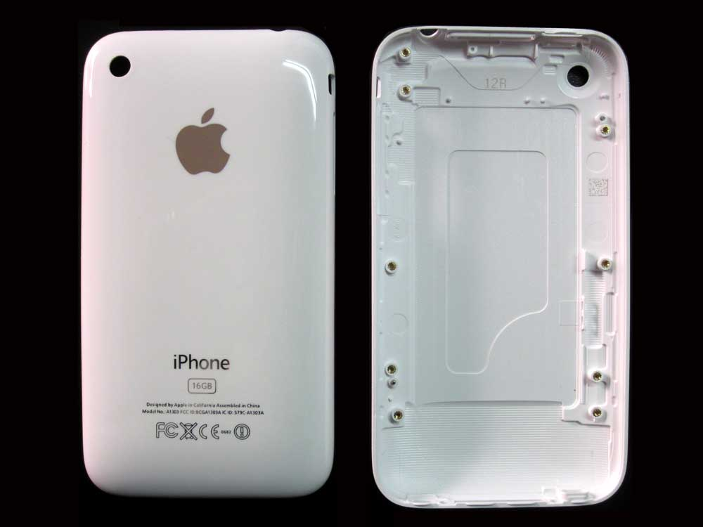 IPHONE 3GS BACK COVER WHITE