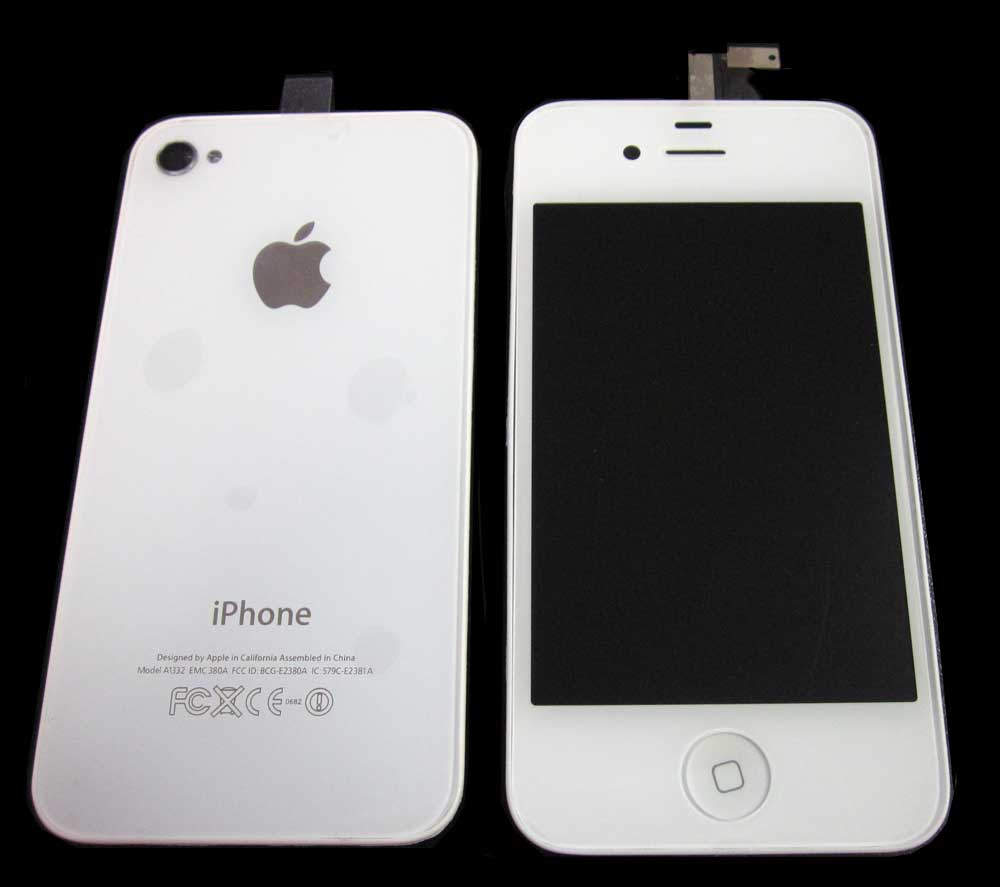 IPHONE 4G LCD+BACK COV+HOME