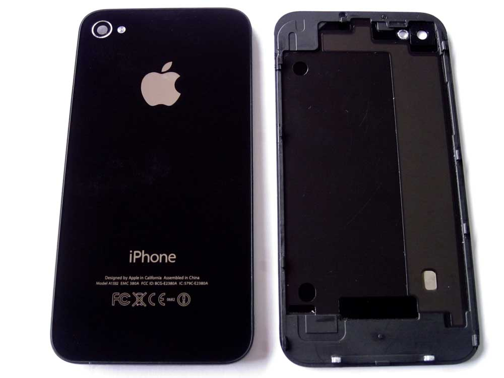 IPHONE 4G BACK COVER BLACK