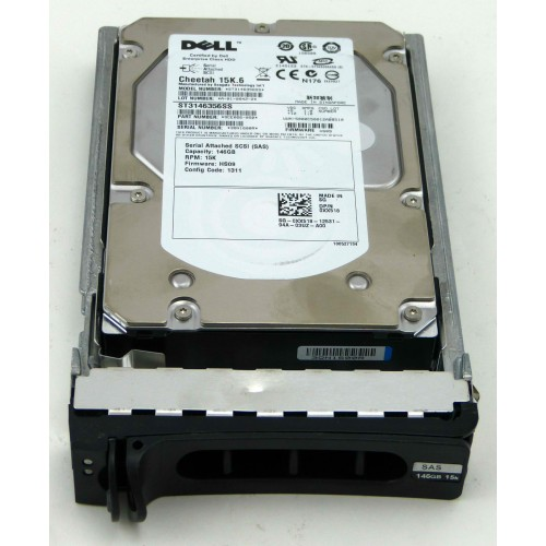 146GB 15K SAS DELL REFURB